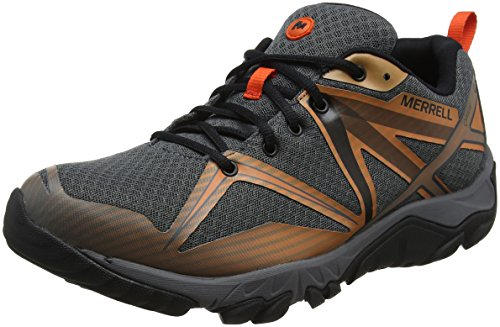 Mqm Chaussures de GTX Merrell Rock Basses Edge Gris Homme Castle Randonnée ZOnqqxf7