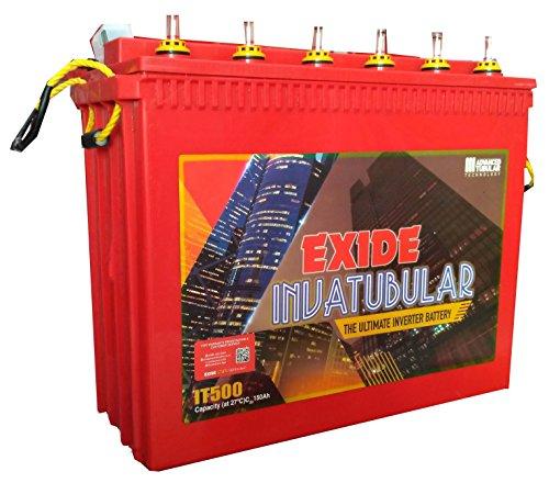 Exide'S It 500 150 Ah Tall Tubular Battery
