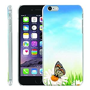 [ManiaGear] [SLIGHT] Thin Clip On Image Shell Cover Hard Case (Sunkiss Butterfly) for Iphone 6 PLUS (5.5)