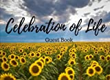 Celebration of Life Guest Book: A Classic Memorial & Funeral Guest Book, Wake, Condolence Book, Church, Memorial Service (Elite Guest Book)