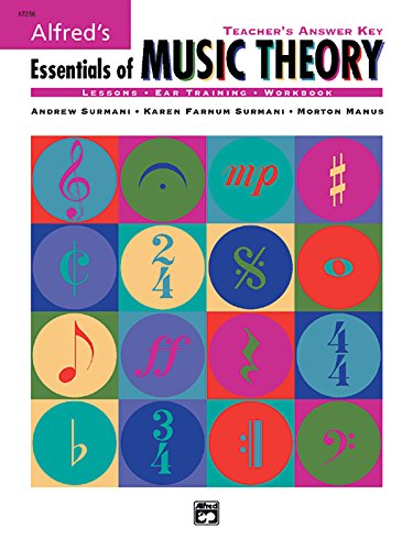 Alfred's Essentials of Music Theory: Teacher's Answer Key ()