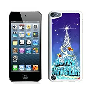 Recommend Design Sparkle Christmas Tree White iPod Touch 5 Case 1