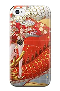 8844663K288348172 dragons thigh highs artwork Anime Pop Culture Hard Plastic iPhone 4/4s cases