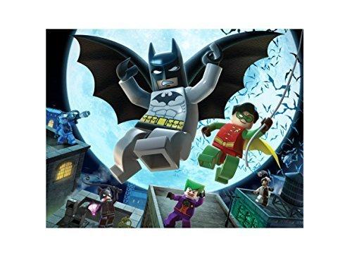 Lego Batman Image Photo Cake Topper Sheet Birthday Party - 1/4 Sheet - 79926 ()