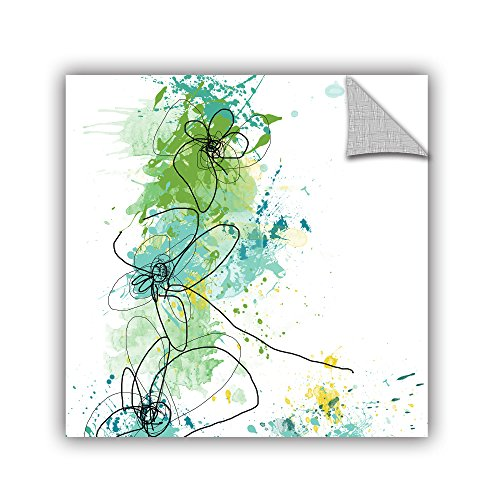 ArtWall Jan Weiss Green Botanica Appeelz Removable Graphic Wall Art, 18 by ()