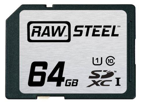 Hoodman 64GB SDXC RAW Steel Class 10 UHS-1 Memory Card