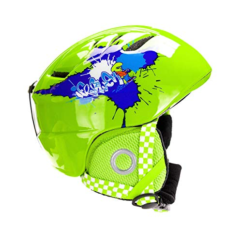 BeBeFun Toddler and Child ski Skate Helmet 48-52cm Small Size Especially Design for 2-6 Years Toddler Kids.