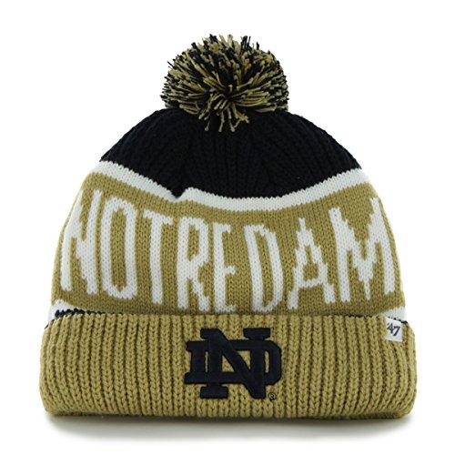 NCAA Notre Dame Fighting Irish Calgary Cuff Knit Hat, One Size, - Calgary Irish Shop