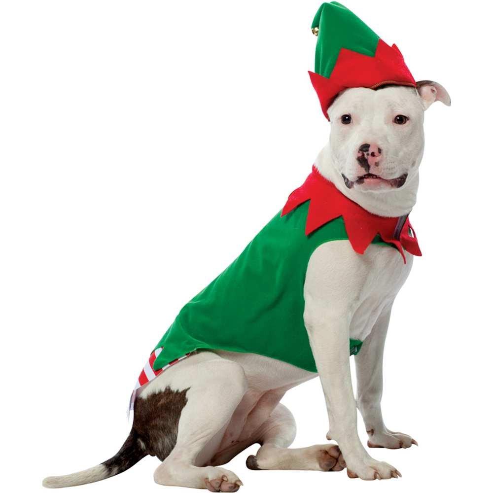 Elf Dog Pet Pet Costume - Medium