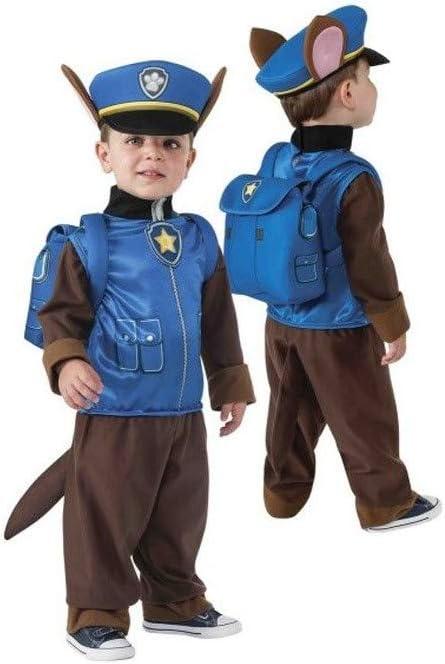 DISBACANAL Disfraz Chase Patrulla Canina Infantil - -, 3-4 años ...