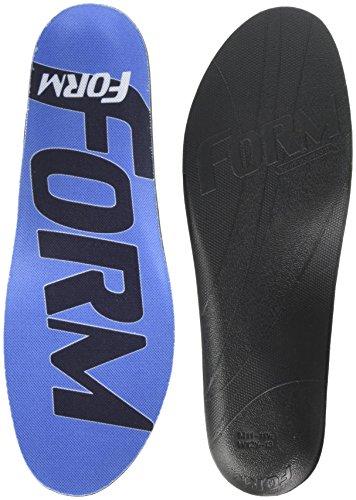 FORM Premium Insoles Maximum Support-Custom Fitting Shoe Inserts, Blue, Men's 10-10.5, Women's 11.5-12