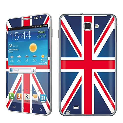 Att Samsung Jack ([AT&T] Samsung [Note i717] Phone Skin - [SkinGuardz] Full Body Scratch Proof Vinyl Decal Sticker with [WallPaper] - [Union Jack] for Samsung Note i717)