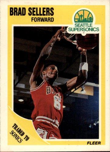 1989 Fleer Basketball Card (1989-90) #24 Brad Sellers
