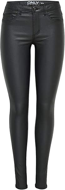 Only Onlroyal R SK Rock Coated Pnt PIM Noos Vaqueros Skinny para Mujer