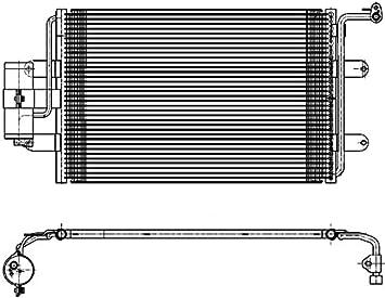 BEHR HELLA SERVICE 8FC 351 036-221  Kondensator Klimaanlage