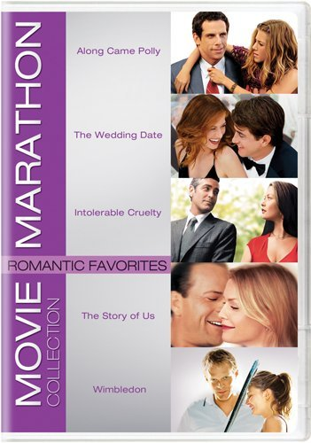 Movie Marathon Collection: Romantic Favorites (Along Came Polly / The Wedding Date / Intolerable Cruelty / The Story (New Comedy Dvd Releases)