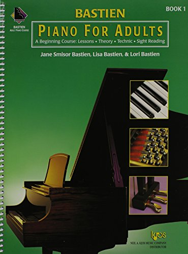 KP1B - Bastien Piano for Adults, 1 Book Only: A Beginning Course: Lessons, Theory, Technic, Sight Reading