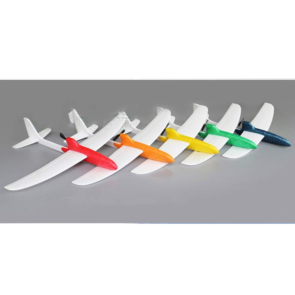 Ycco Foam Throwing Glider Airplane, GreatestPAK Hand Launch Inertia Plane Model Toy Gift for Children Home Decoration Collection Flight Mode Outdoor Sports Flying (Color : Red) by Ycco (Image #2)