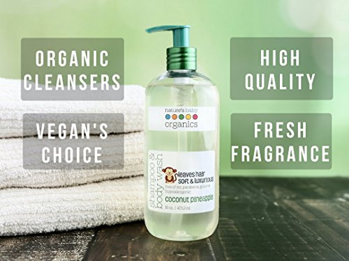 Review Nature's Baby Organics Shampoo