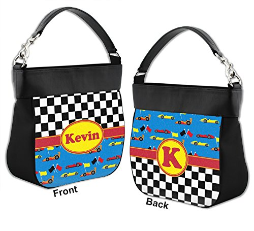 Trim Back w Front Genuine Leather Racing Purse Car Hobo Personalized amp; tqwxS0zfYn