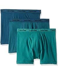Men's Cotton Stretch 3 Pack Boxer Briefs