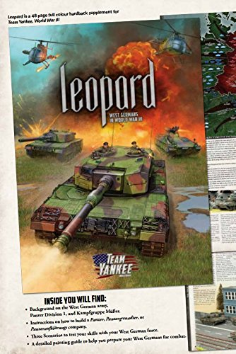 Battlefront Miniatures Team Yankee: Leopard - West Germans in World War III
