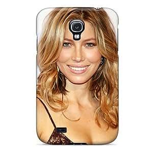 Hot Jessica Biel First Grade Tpu Phone Case For Galaxy S4 Case Cover