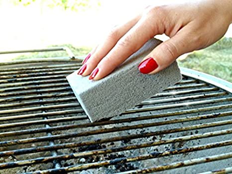 Per una pulizia facile e pietra reibstein per griglia rostiera