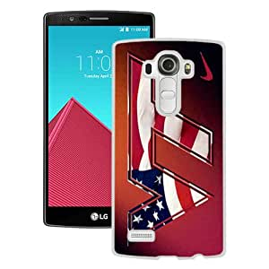 Host Sale LG G4 Case ,Fashion And Durable Designed With virginia tech hokies 01 White LG G4 Cover