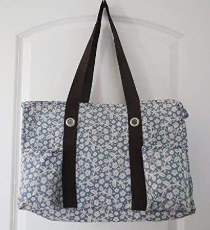 4d3a75346e Amazon.com   Defects Thirty-one bags Organizing Utility Tote Garden Bloom   Cosmetic  Tote Bags   Beauty
