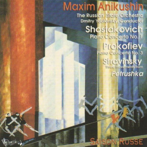 Price comparison product image Shostakovich / Tchaik: Piano Con