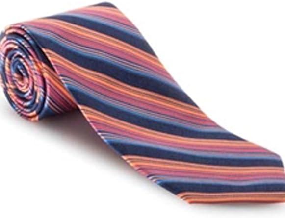 Robert Talbott Orange with Multi Color Medallion Best of Class Extra Long Tie