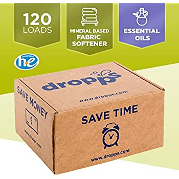 Dropps HE Laundry Scent Booster Pacs, Lavender Eucalyptus, 120 Loads