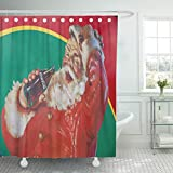 Coca Cola Shower Curtain Ladble Waterproof Shower Curtain Curtains Red Cola Potsdam Germany December 10 Iconic Santa Claus Christmas Tour in Coca 72
