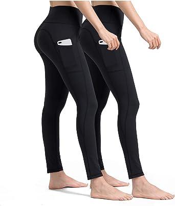 ALONG FIT Leggings Mujer, no transparenta Mallas Deportivas Mujer ...