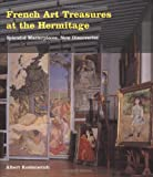 Front cover for the book French Art Treasures at the Hermitage by Albert Kostenevich