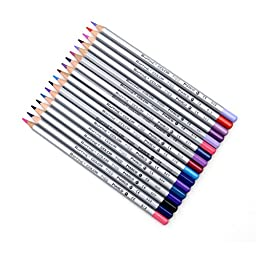 Happy Hours® Professional Non-toxic Pencils Set 72 Color Marco Fine Art Drawing Oil Base For Artist Sketch/ Secret Garden Coloring Book Painting Coloring Pens