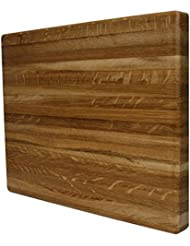 Kobi Blocks White Oak Edge Grain Butcher Block Wood Cutting Board 20 X 30 X 1