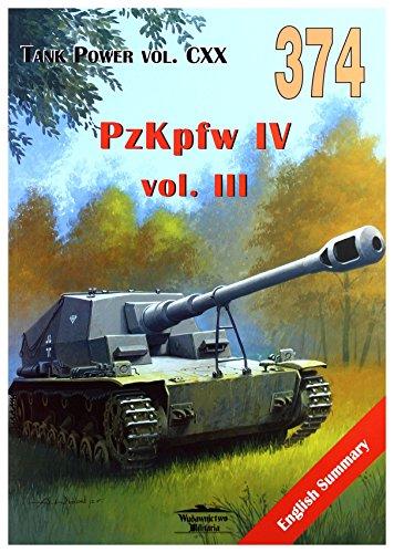 No. 374 PzKpfw IV Vol III - Tank Power Vol CXX