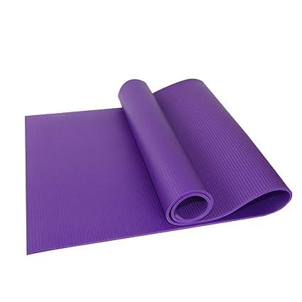 Ezyoutdoor 6mm thick Eva Foam PRINTED YOGA MAT,Eco-friendly, Nontoxic Foam Pad Construction Extra-thick and Durable Mattress Purple for Pilates Gym ...