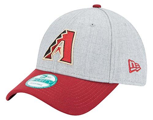 MLB Arizona Diamondbacks The League Heather 9FORTY Adjustable Cap, One Size, Gray