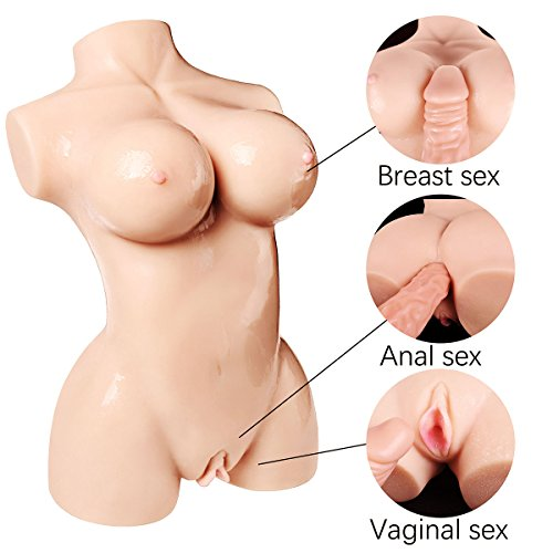 JBDK Love Doll Male Masturbators Toy for Men Sex Doll Adult with Inviting Vagina Virgin Pussy 3D Silicone (12 Pound) by JBDK (Image #1)