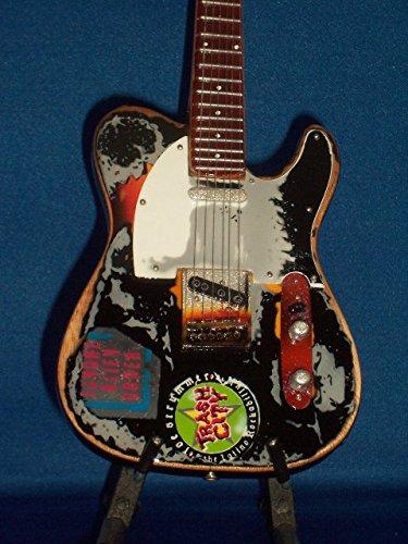 Mini Guitar THE CLASH JOE STRUMMER Trash City Statuette GIFT