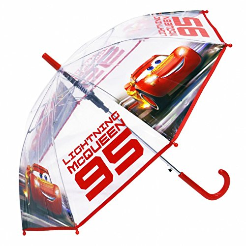 Cars - Parapluie automatique transparent 3