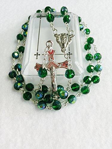 Birthstone Rosary - May