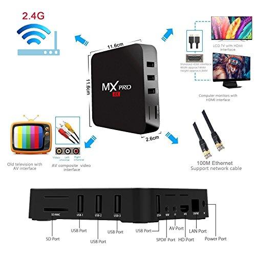 Aeropost.com Guatemala - Android TV BOX, Greatever MX Pro TV Box ...