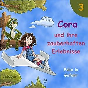 Felix in Gefahr: 7 Geschichten für Kinder zum Hören - Spaß für Klein und Groß (Cora und ihre zauberhaften Erlebnisse 3) Hörbuch