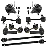 ball bearing toyota corolla 2000 - Prime Choice Auto Parts TSB33101004643KIT Ten Piece Set of Ball Joints Rear Sway Bars and Innner and Outer Tie Rods