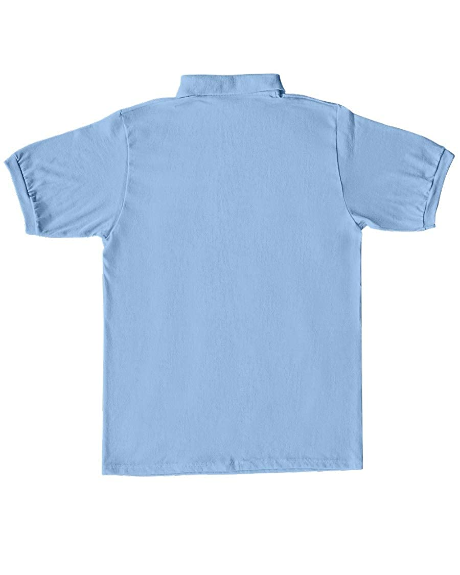 Barbara Sweet BS Smiley Juice Classic Polo Light Blue M