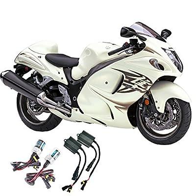 Sixty61 Suzuki motorcycle GSXR 1300 Hayabusa 2008-2016 Xenon HID headlight conversion bulbs kit